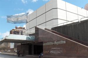 Le bâtiment ultra-moderne de Canal 7