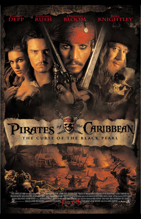 Pirates of the Caribbean [1] – The Curse of the Black Pearl (4 Mars 2013)