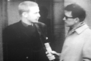 Une interview dans Aktuellt en 1964
