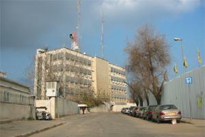 Les locaux de Channel 1 à Jérusalem