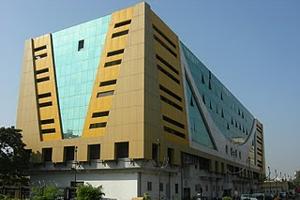 Le siège de Zee TV à Mumbai est assorti à son logo coloré !