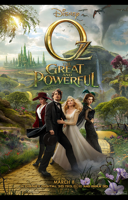 Oz the Great and Wonderful (3 Janvier 2014)