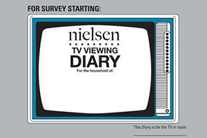Nielsen-TVViewingDiary-300