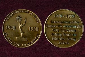 EmmyAwards-1988-Medals-300